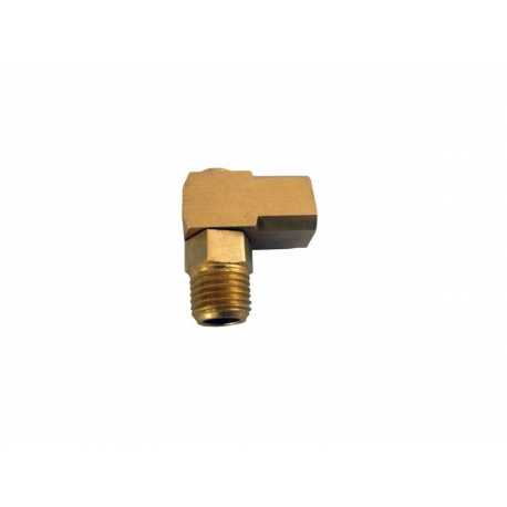 "1/4 ""X 1/4"" M-F ""L"" FITTING SWIVEL"