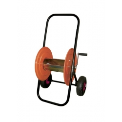 150 M HOSE REEL with PNEUMATIC WHEELS for IRRIGATION PIPE