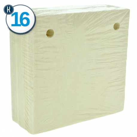 25 PCS-1,100-1,300 g/m2 FILTER PAPERS 20 x 20 -K16 2 HOLES