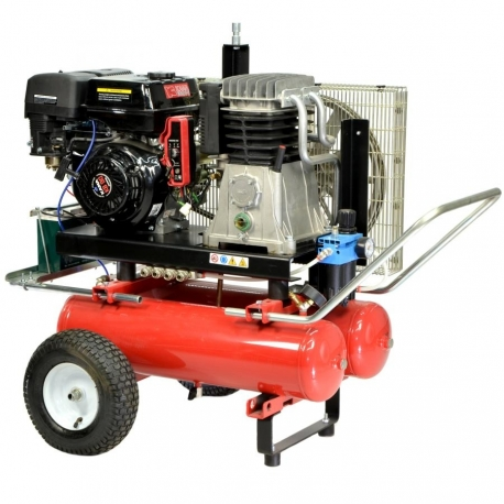 COMPRESSOR HP 22 9 + 22 LT- GASOLINE ELECTRIC STARTER