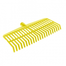 YELLOW REINFORCED PLASTIC BROOM FOR OLIVES