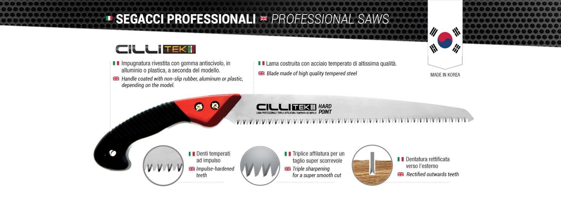 Segacci Professionale Cillitek